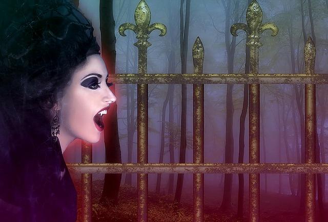 upírka u plotu