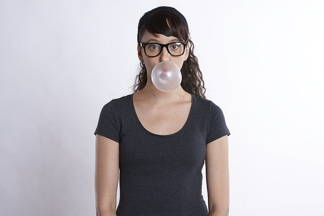 bublina žvýkačky