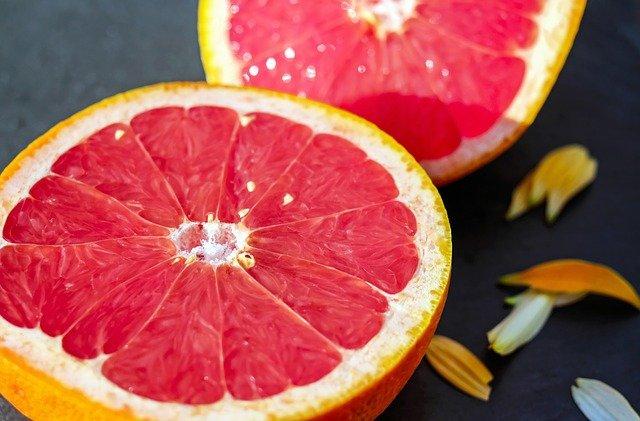 půlky Grapefruitu