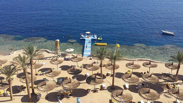 moře v Egyptě