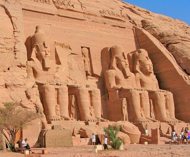 egyptské sochy