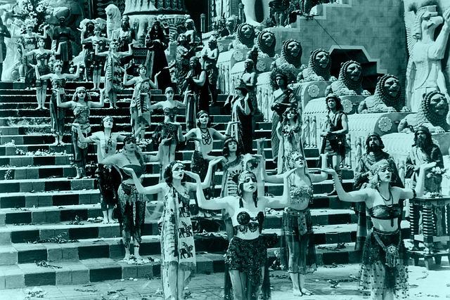 tanečnice Egypt