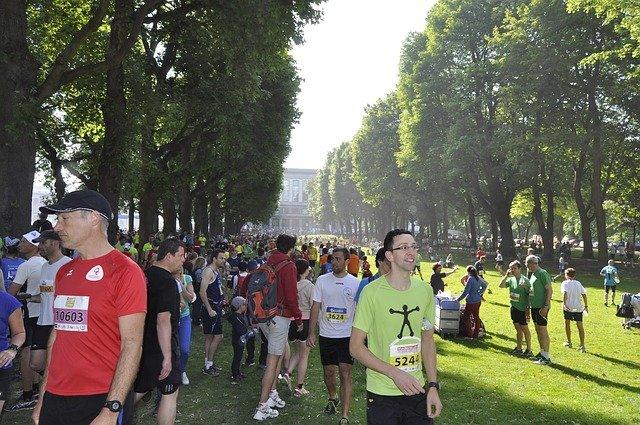 maratón v Bruselu