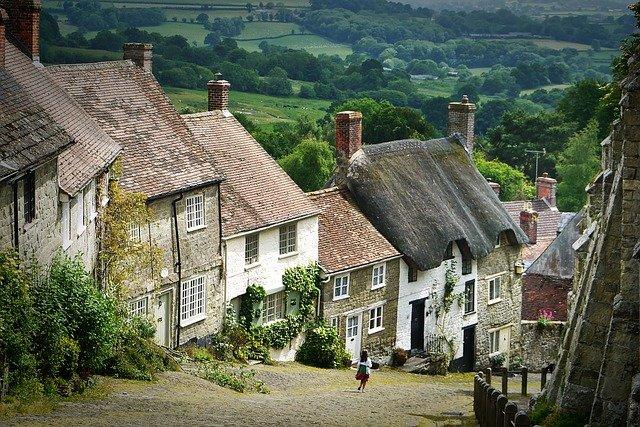 domy v Anglii