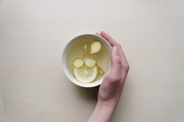 nápoj se zázvorem