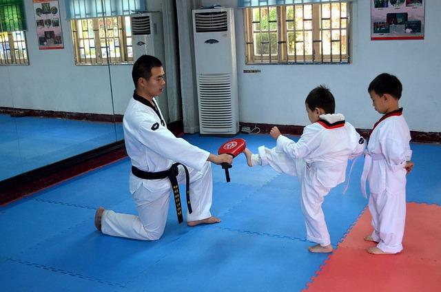 trénink karate