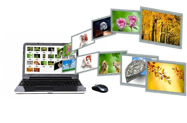 propagace na internetu, obrázky