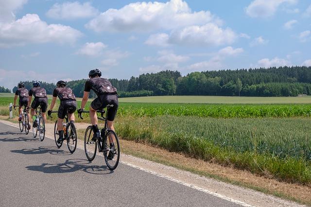 výlety na kole