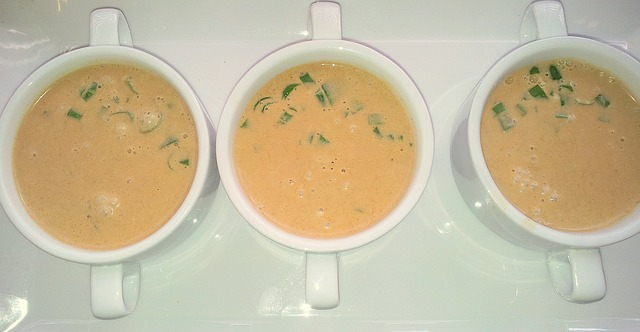 kokosová polévka