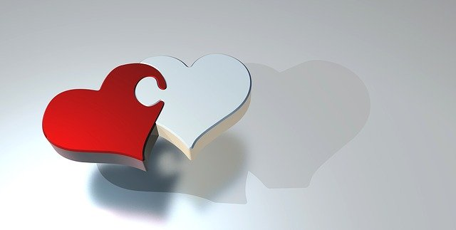 spojení dvou srdcí