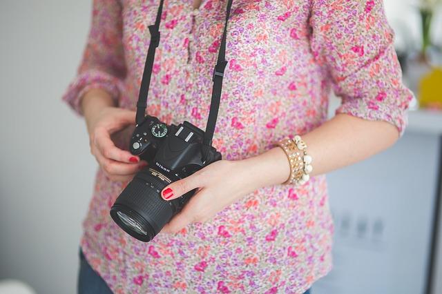 fotografka, žena