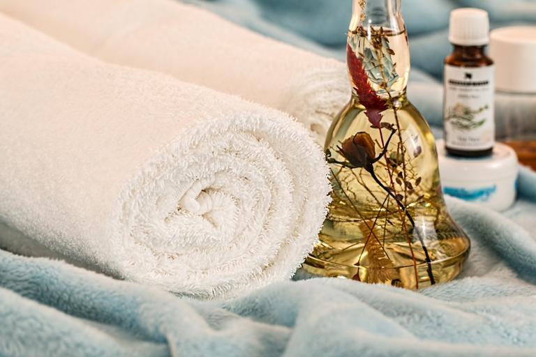 olejíček a ručníky